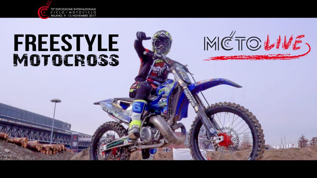 Freestyle Motocross a MotoLive – EICMA 2017
