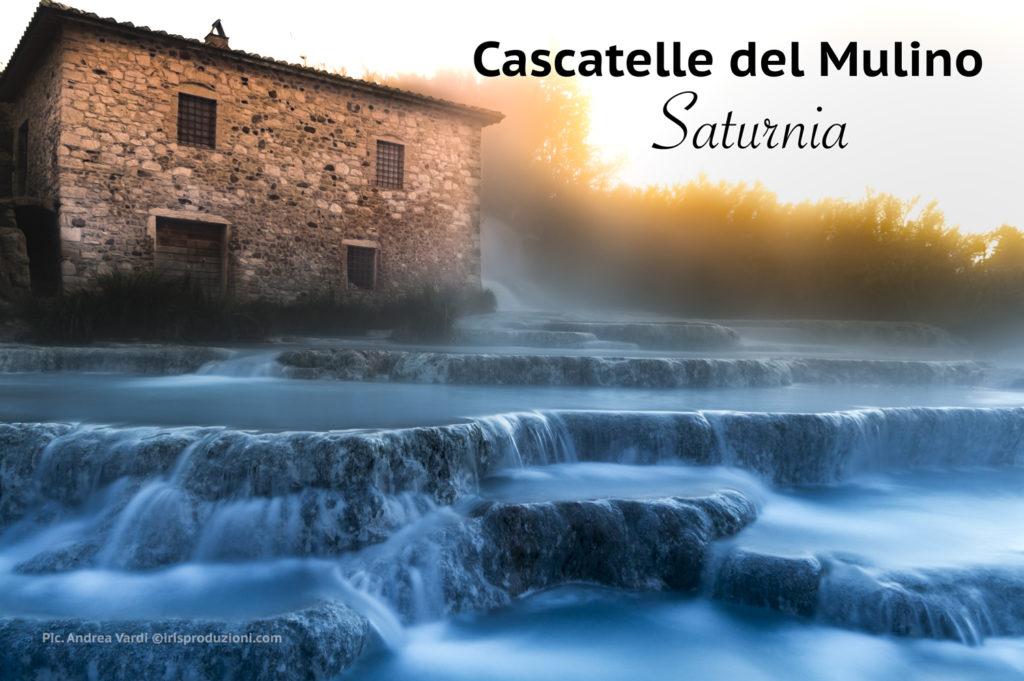 Terme di Saturnia – Le cascate del Mulino